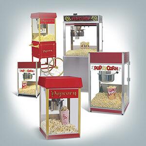 Popcorn koneet ammattikäyttöön